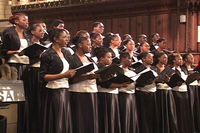 University Choir participates in music festival held in the Bahamas