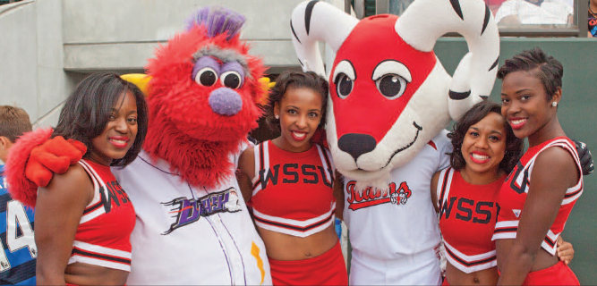 WSSU Spirit Week at the Dash