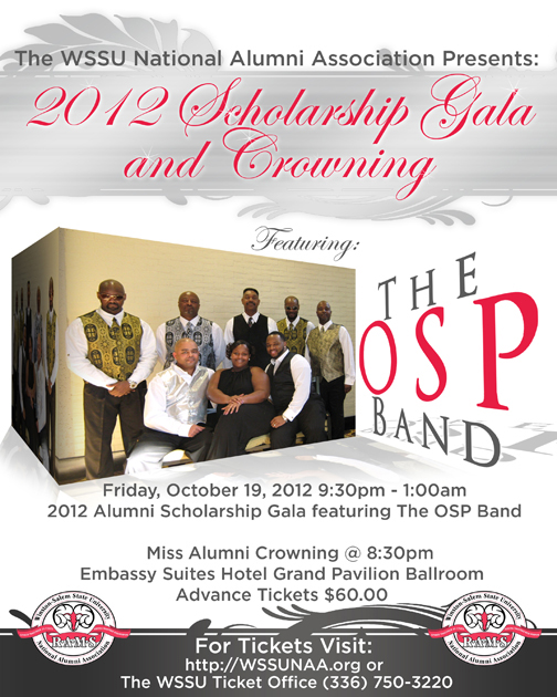 2012 Homecoming Scholarship Gala