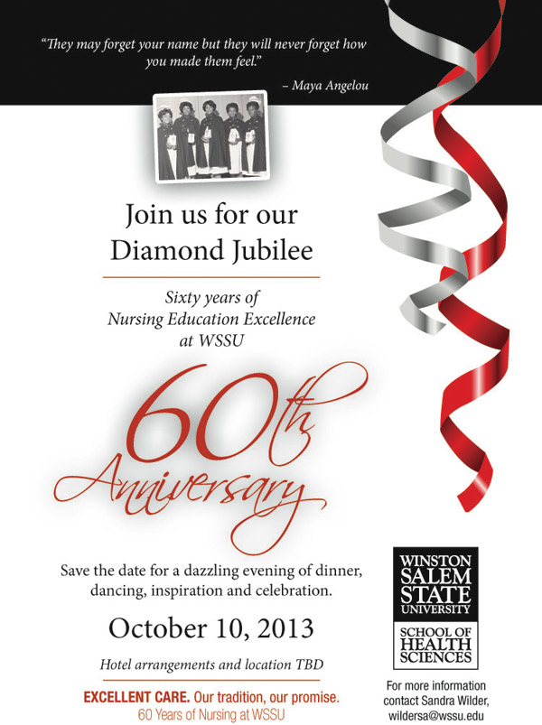 Nursing 60th Anniversary