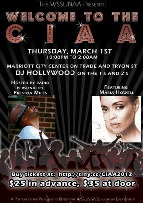 NAA CIAA Thursday Party 2012