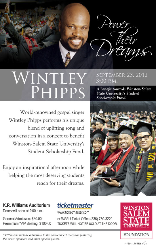 Wintley Phipps Concert