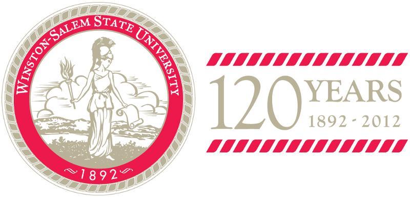WSSU Anniversary Logo