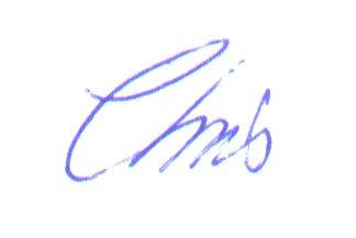 sign Chris