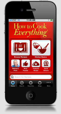 How to Cook Everything Mobile App Available Now