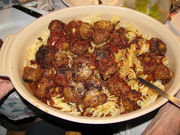 Roger's meatballs