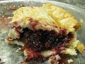 berry minty pie