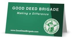 GDB Tent Card