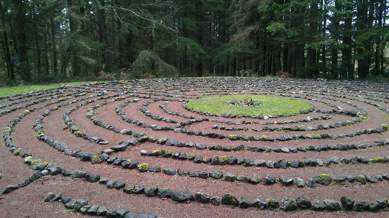 Labyrinth, Whidbey Institute (by Dan Keusal)