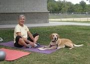 Dog Yoga Yappy Hour Class
