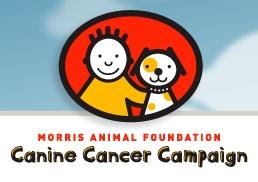 logo design for Canine Cancer Campaign