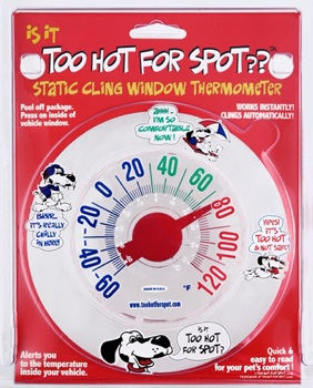 Too Hot for Spot thermometer