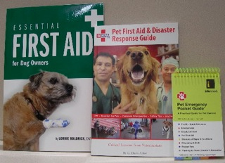 3 Pet First Aid Books