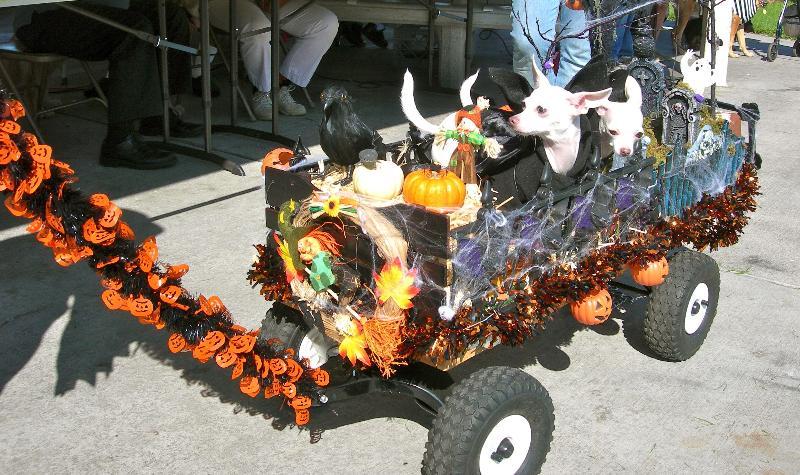 Spooky Carnival Float