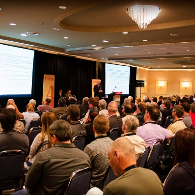 Group of 300 listens to conference speaker