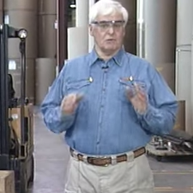 Screenshot of health and safety training video