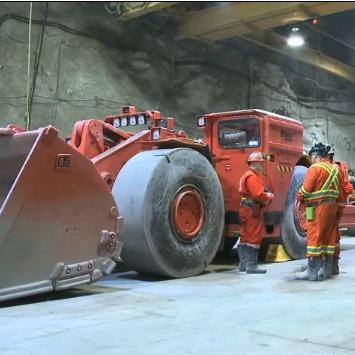 MOL mine inspection mobile equipment video screenshot