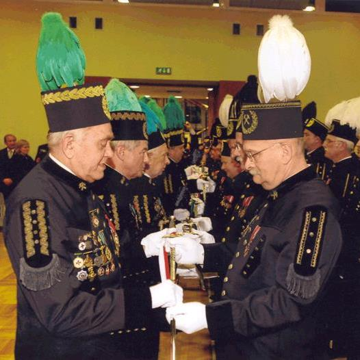 European ceremony on Miners Day