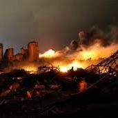 Texas fertilizer explosion by Mike Stone, Reuters