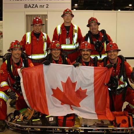 Mine rescue international competition