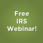 Free IRS Webinar from WSN