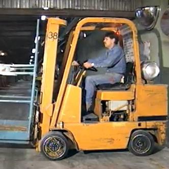 Industrial Lift Truck safety video screenshot