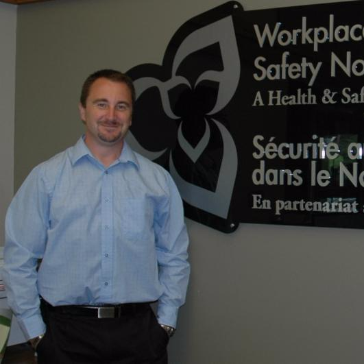 Mike Parent at Workplace Safety North