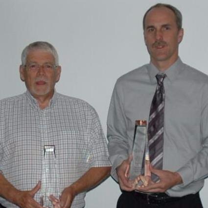 WSN staff and Fleming award winners