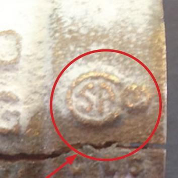 Cracked ball valve
