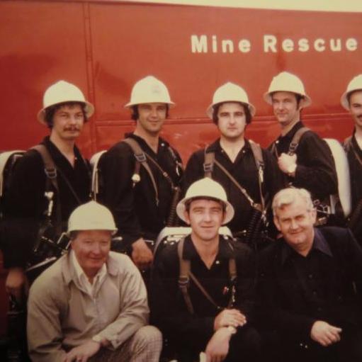 Ontario mine rescue team 1975