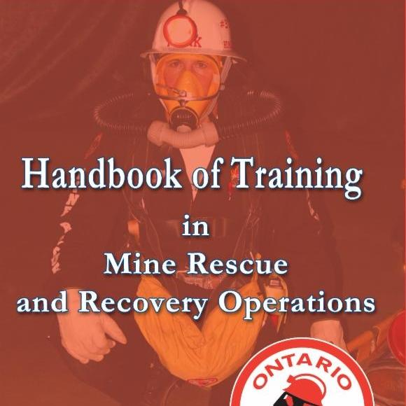 Mine rescue volunteer in full gear