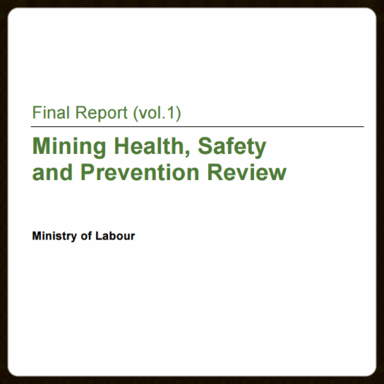 Mining health and safety report-MOL