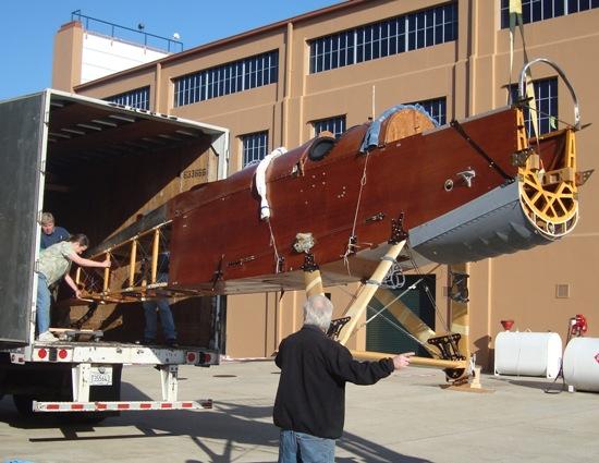 DH-4 Unloading