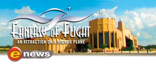 Fantasy of Flight E-news