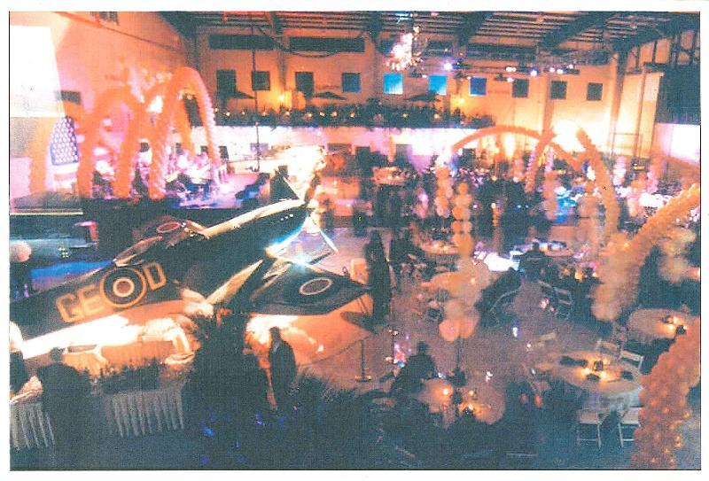 Opening Gala Hangar party 1995