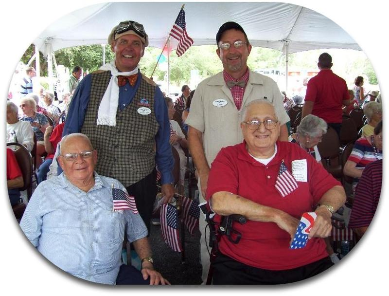 Honor Flight celebration July 2011