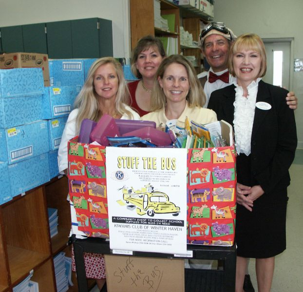School Supplies Donated for Students