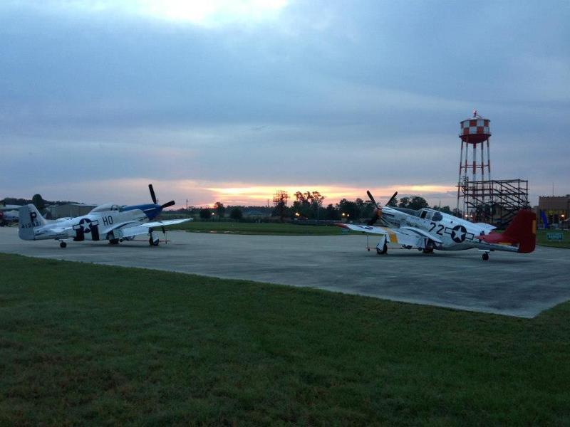 Mustang & Mustangs planes 2013