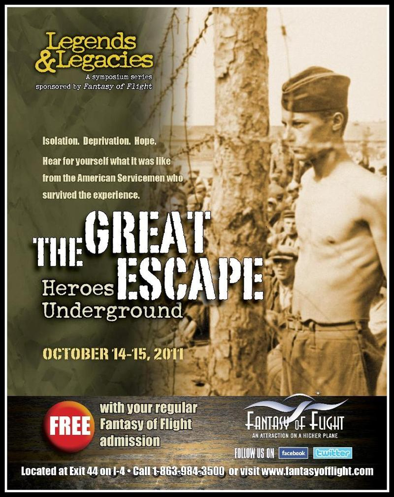 Great Escape poster 2011