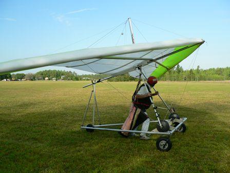 Neal Goss Hang Gliding
