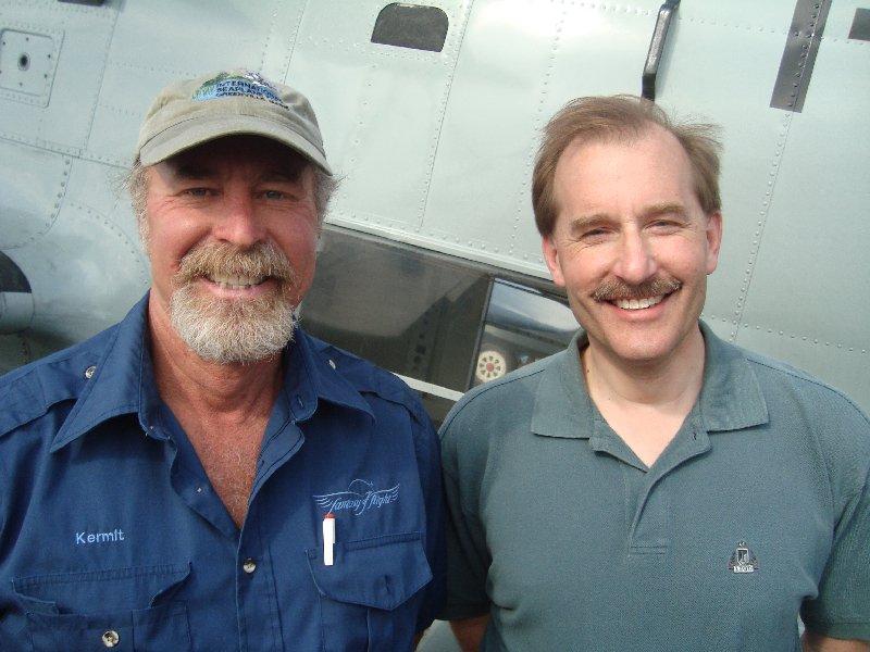 Kermit Weeks with Jeff Skiles