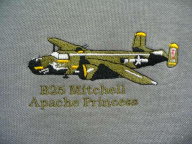 Apache Princess embroidered image