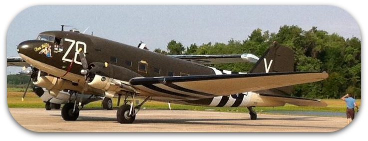 Tico Bell C-47 on ramp May 2011