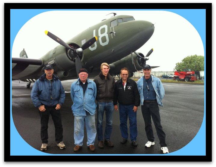 C-47 crew in Iceland