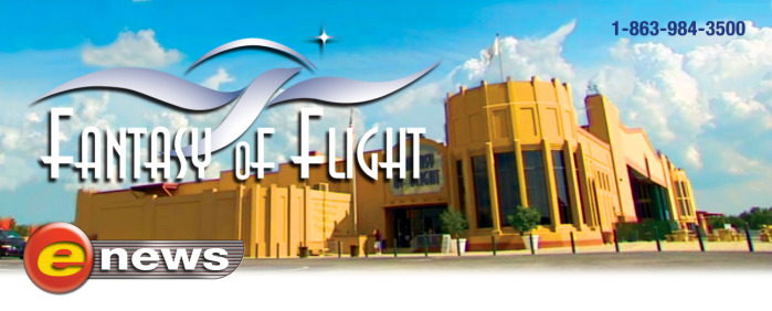 Fantasy of Flight Enews Header
