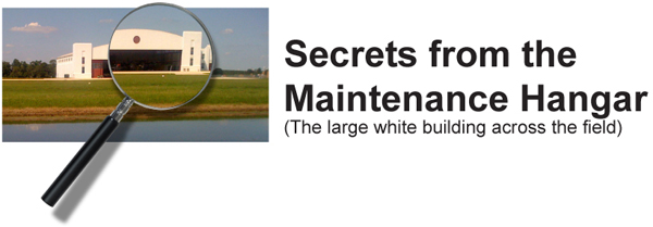 Secrets from the Maintenance Hangar Graphic