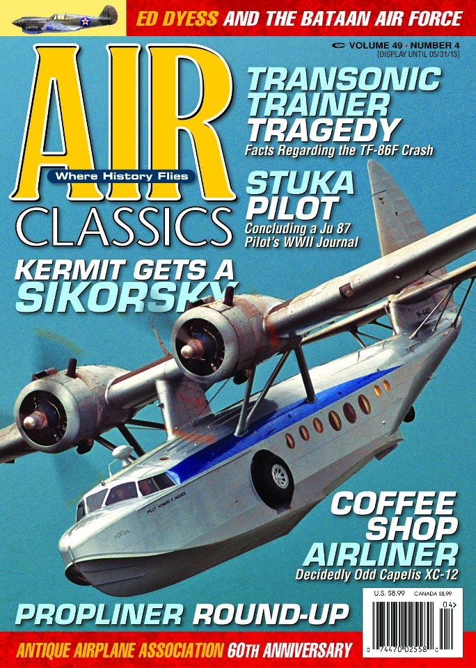 Air Classic March 2013 Sik cover
