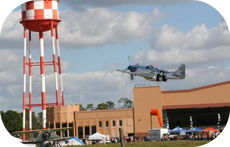 P-51 D model takes off at 2011 RnS