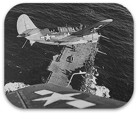 Hellcat over Carrier for Pacific War