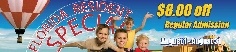 Florida Resident Banner 2013
